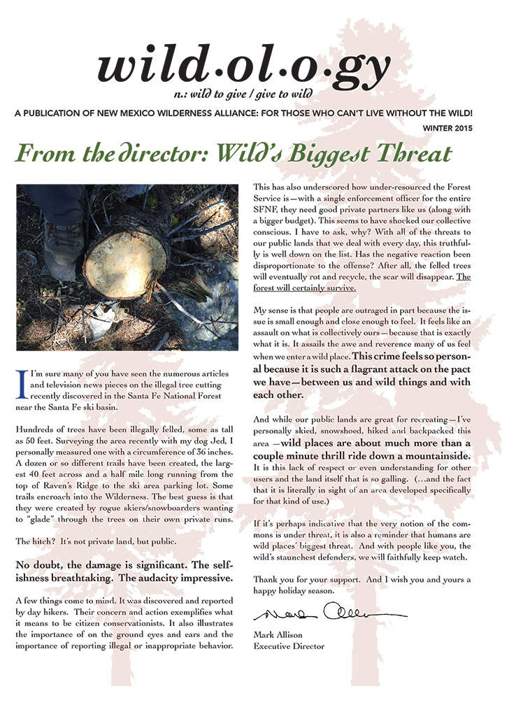 Wildology Nov 2015