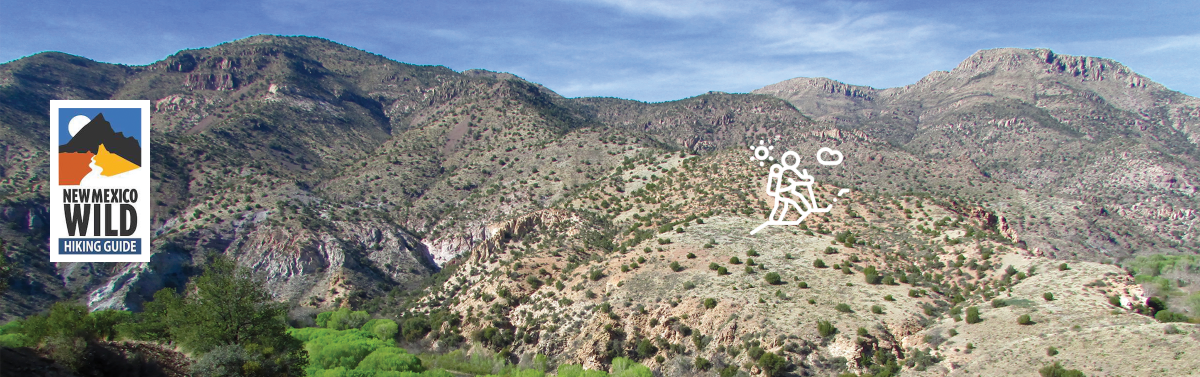 New Mexico Wild Hiking Guide Hill Pic