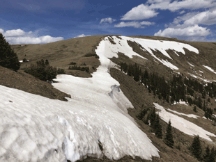 Snowline in the Pecos