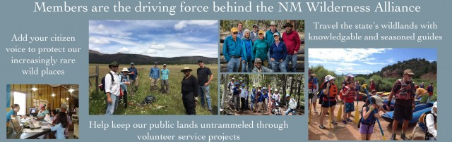 Members are the driving force behind the NM Wilderness Alliance