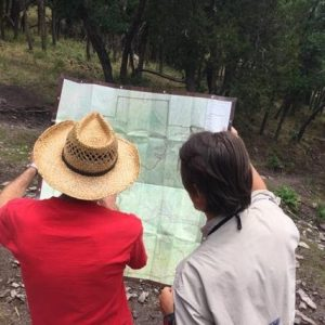 rangers with map
