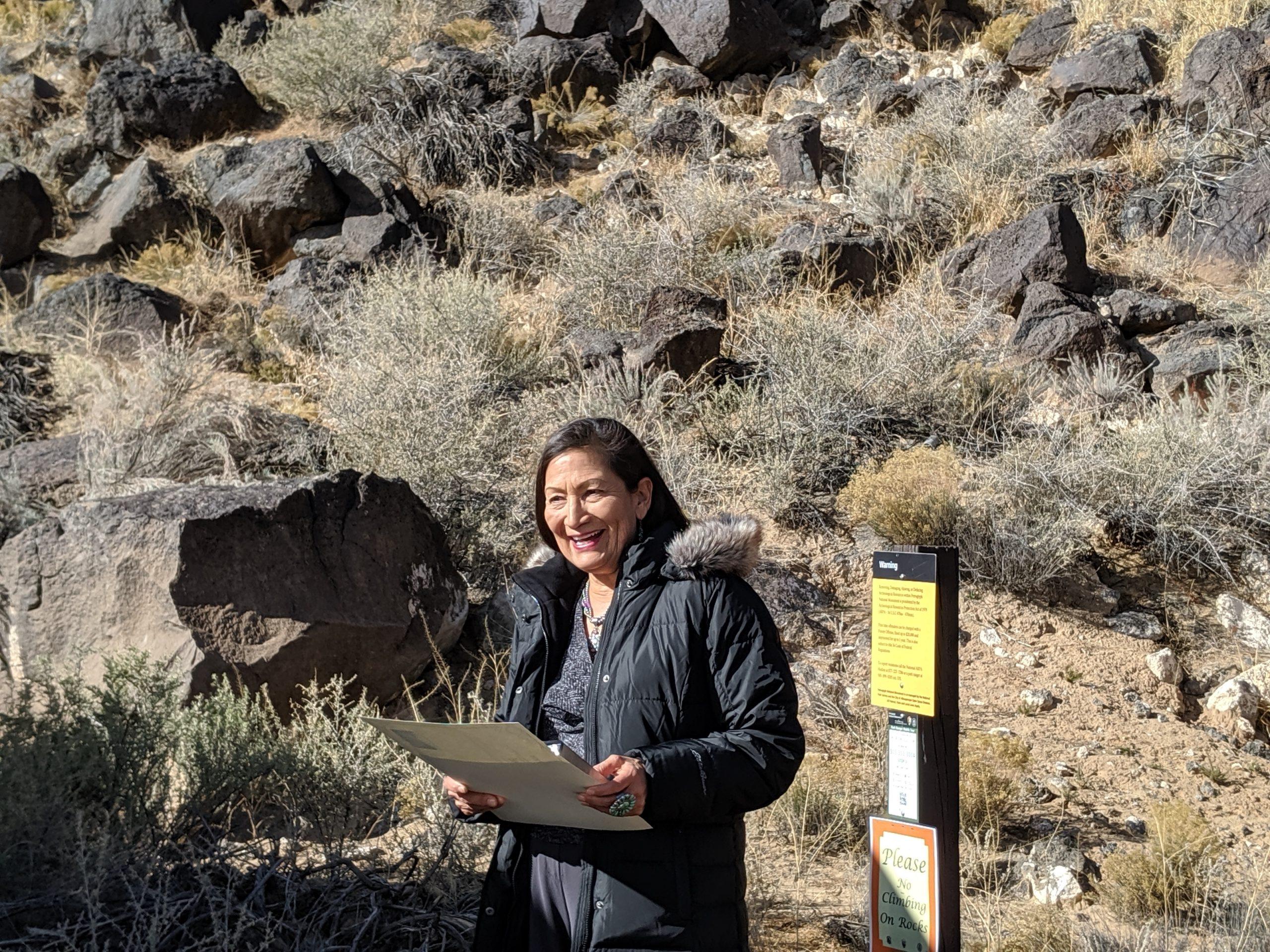 New Mexico Wild celebrates nomination of Congresswoman Deb Haaland to serve as Secretary of Interior