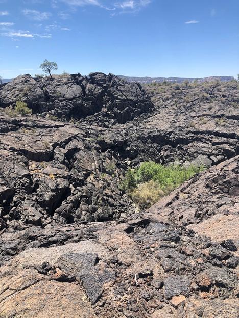 Hiking the Lava at El Malpais National Monument